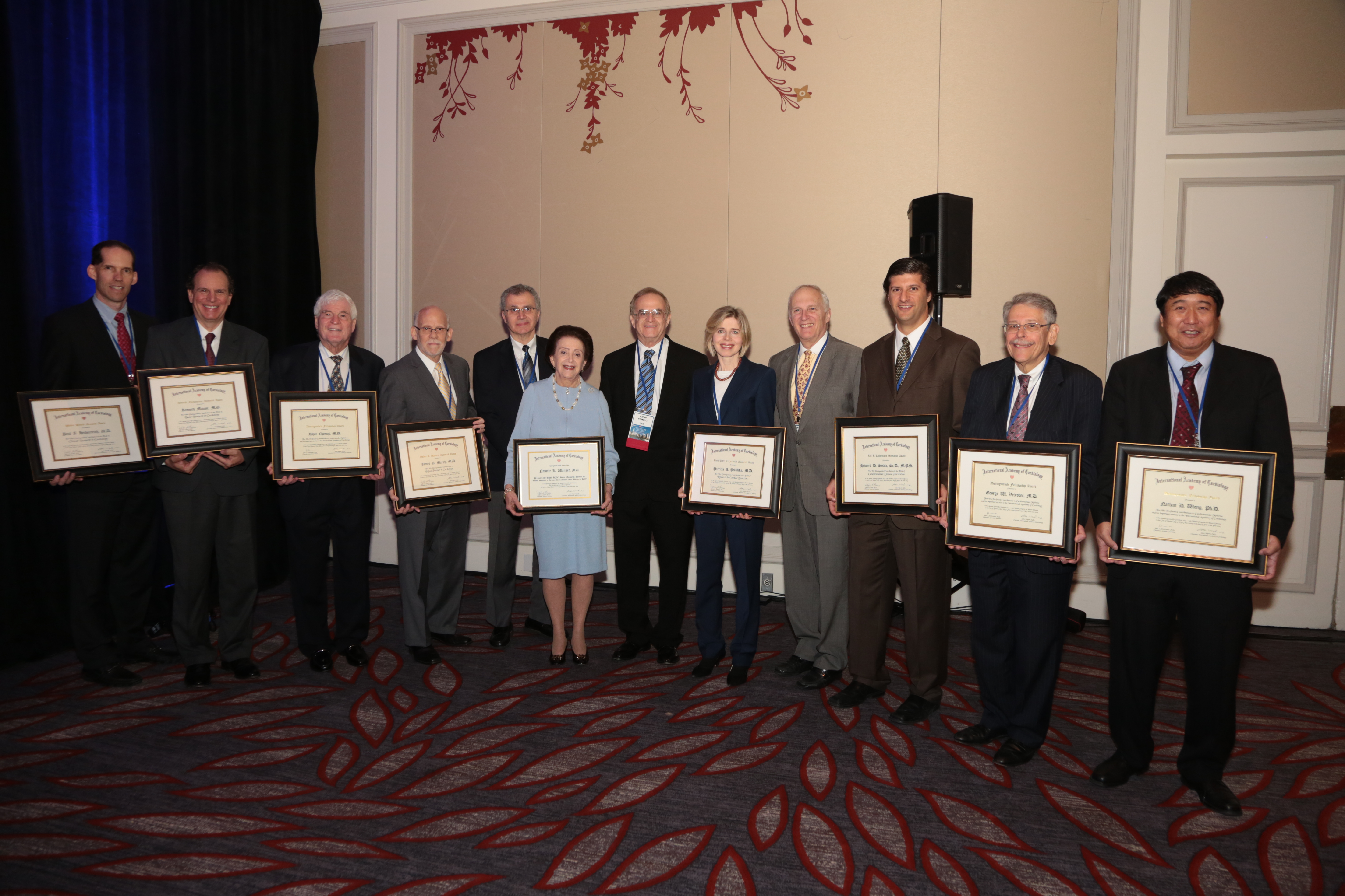 International Academy of Cardiology 2014 Awards